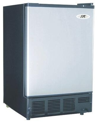 IM-150US Undercounter Ice Maker with Freezer 12 lbs. Daily Ice Production and 6 lbs. Ice Storage Capacity in Stainless