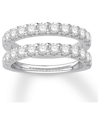 New Bargains On Diamond Enhancer Ring 1 1 2 Ct Tw Round Cut 14k