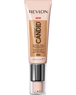 Revlon PhotoReady Candid Natural Finish, Anti-Pollution Foundation - 500 Almond - 0.75 fl oz
