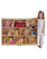 Kids' Station Portable 8 Compartment Cubby S364808BIR