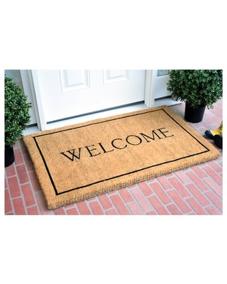 Here S A Great Price On Peyton Welcome Outdoor Door Mat Winston Porter Mat Size 24 W X 36 L X 1 5 D