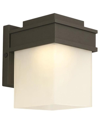 Design House Bayfield 4.5-in W 1-Light Black Wall Sconce | 578120