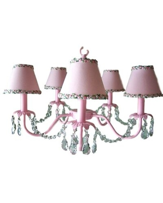 Camillah 5-Light Shaded Classic / Traditional Chandelier Silly Bear Lighting Shade: Flower Power