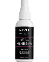 Nyx Professional Makeup First Base Primer Spray - 2.02 fl oz, Clear