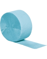 Pastel Blue Party Banner, Streamers