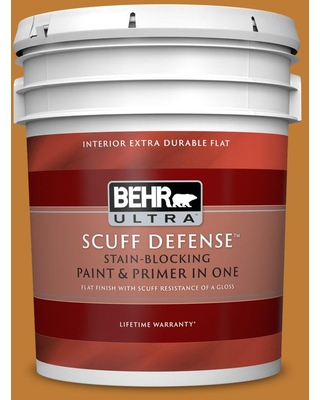 BEHR ULTRA 5 gal. #S-H-310 Autumn Fest Extra Durable Flat Interior Paint & Primer