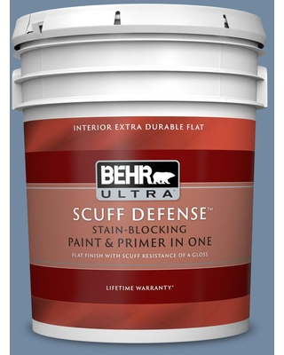 BEHR ULTRA 5 gal. #PPU15-09 Hilo Bay Extra Durable Flat Interior Paint & Primer