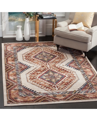 Safavieh Bijar Ivory/Rust (Ivory/Red) 5 ft. x 8 ft. Area Rug
