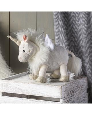 FabFuzz Magnifique Unicorn - 9 inch - Baby Toys & Gifts for Ages 3 to 4 - Fat Brain Toys