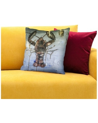 """Great and Small Throw Pillow East Urban Home Size: 20"""" H x 20"""" W x 2"""" D"""