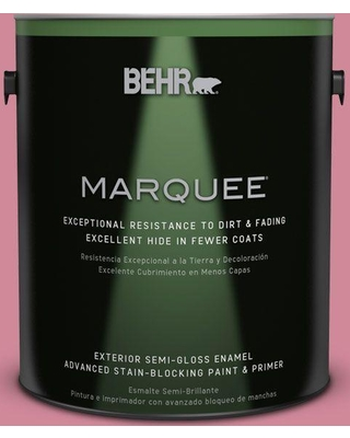 BEHR MARQUEE 1 gal. #M140-4 Fruit Cocktail Semi-Gloss Enamel Exterior Paint and Primer in One