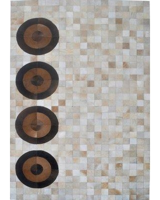 Modern Rugs Beige Area Rug M19- Rug Size: Rectangle 9' x 12'
