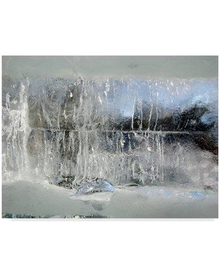 """East Urban Home 'Fairy Winter' Graphic Art Print on Wrapped Canvas W000953294 Size: 14"""" H x 19"""" W x 2"""" D"""
