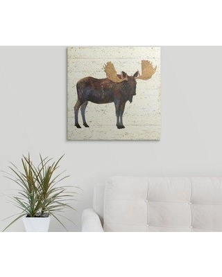 """Great Big Canvas 'Golden Nature I' by James Wiens Painting Print 2335624_1 Size: 20"""" H x 20"""" W x 1.5"""" D Format: Canvas"""