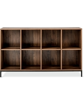 60 Loring 8 Cube Bookcase Walnut (Brown) - Project 62