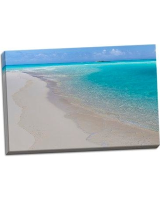 Bay Isle Home 'Tropical Beach I' Photographic Print on Wrapped Canvas BF053306