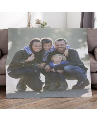 Picture Perfect Personalized 50-Inch x 60-Inch Sweatshirt Photo Blanket