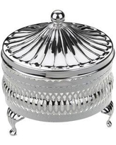 Corbell Silver Company Queen Anne 2 Piece Butter Dish Set 0-4907