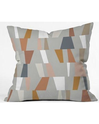 "East Urban Home The Old Art Studio Geometric Throw Pillow ERNI5176 Size: 26"" x 26"""