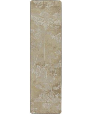 "Red Barrel Studio Corell Park Springs Sunscape Gold Area Rug RDBT3743 Rug Size: Runner 2'1"" x 7'8"""