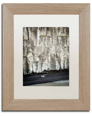 Trademark Fine Art 'Origami' Canvas Art by Philippe Sainte-Laudy, White Matte, Birch Frame