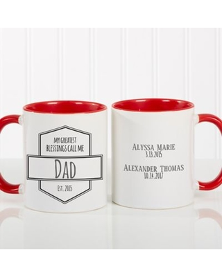 My Greatest Blessings Call Me 11 oz  Coffee Mug in Red