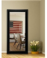 "Darby Home Co Black Slender Body Beveled Wall Mirror DBYH6952 Size: 72"" H x 31.5"" W x 1.5"" D"