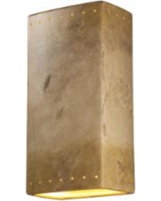 Justice Design Group Ambiance 21 Inch Wall Sconce - CER-1185-TRAG-LED2-2000