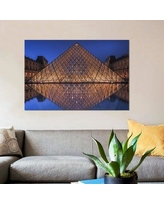 """East Urban Home 'The Mirror' Photographic Print on Canvas ESUI1616 Size: 18"""" H x 26"""" W x 0.75"""" D"""