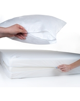 Windsor Home Twin/ Twin XL Bed Bug and Dust Mite Mattress and Pillow Protector Set (Twin XL)