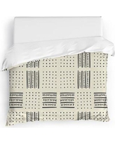 Union Rustic Martinelli Duvet Cover UNRS6971 Size: King, Color: Ivory
