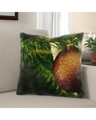 Deals On Laddonia Christmas Indoor Outdoor Canvas Throw Pillow The Holiday Aisle