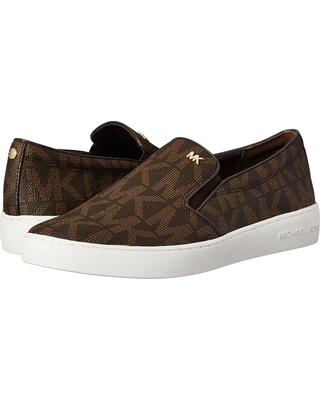 640ee02db4df Remarkable Deal on MICHAEL Michael Kors - Keaton Slip-On (Brown Mk ...