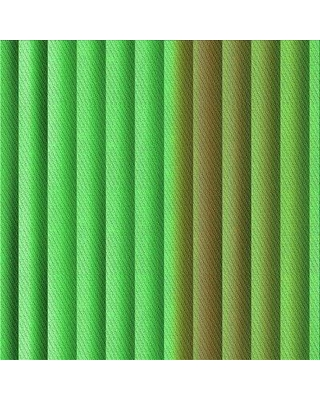 East Urban Home Demars Striped Wool Green Area Rug W000895404 Rug Size: Square 3'