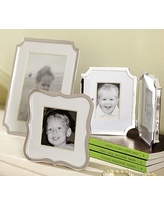 """Abigail Silver-Plated Frame, 4 x 6"""""""