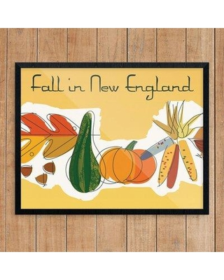 Winston Porter 'Fall in New England' Graphic Art Print BF123623