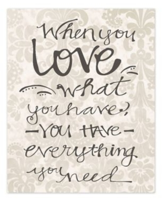 You Have Love 16-Inch x 20-Inch Canvas Wall Art