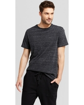 Men's Standard Fit Short Sleeve Crew T-Shirt - Goodfellow & Co Black XL