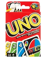 UNO Color & Number Matching Card Game for 2-10 Players Ages 7Y+