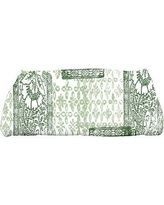 Gracie Oaks Laymon Patches Bath Towel GRCS4665 Color: Green