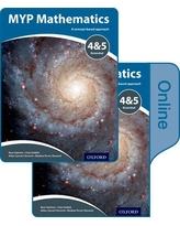 MYP Mathematics 4 and 5 Extended: Print and Online Course Book Pack (IB MYP SERIES)