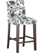 Parsons 30 Barstool Blue Shaded Floral - Threshold