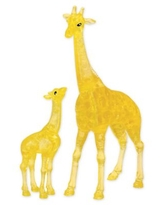 BePuzzled Giraffe and Baby 38-Piece 3D Crystal Puzzle