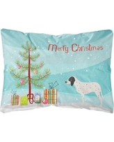 The Holiday Aisle Essex Gascon Saintongeois Christmas Indoor/Outdoor Throw Pillow BF148630