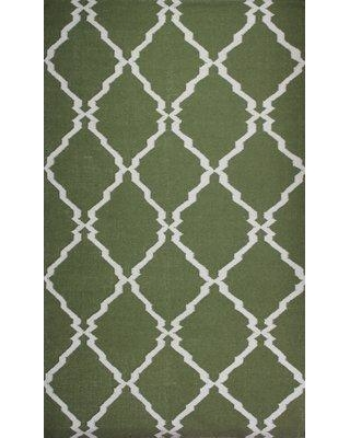 Alcott Hill Buster Green Area Rug ALTL4188 Rug Size: 8' x 11'