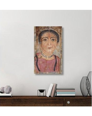 """East Urban Home 'Mummy Portrait of a Woman' Acrylic Painting Print on Canvas ETUC6795 Size: 36"""" H x 22"""" W x 1.5"""" D"""