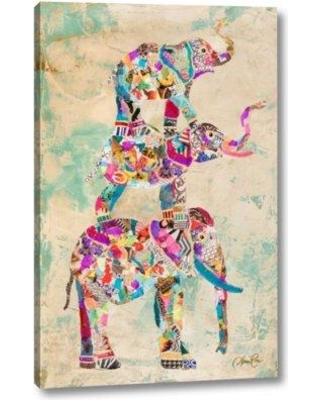 """Bungalow Rose 'Trunk Show II' by Gina Ritter Giclee Art Print on Wrapped Canvas CJ109871 Size: 16"""" H x 10"""" W x 1.5"""" D"""