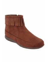 Extra Wide Width Women's The Marion Shootie by Comfortview in Chestnut (Size 10 1/2 WW)