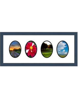 Frames By Mail 4 Opening Collage Picture Frame multimat-58942-107 / multimat-58942-108 Color: Blue
