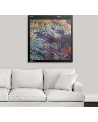 "Great Big Canvas 'Ghadamis River - USGS Earth' Graphic Art Print 2405833_1 Size: 36"" H x 34"" W x 1.5"" D Format: Canvas"